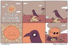 KinokoFry: A Collection of Comics Crow, Sun, Comics, Collection, Raven, Crows, Cartoons, Comic, Comics And Cartoons