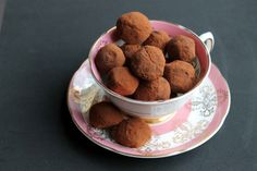 Beetroot, Chocolate and Lapsang Souchong Tea Truffles