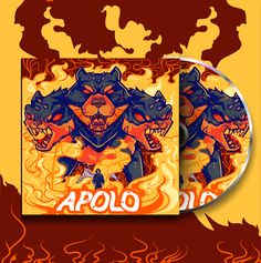 Apolo Music CD designed by Penpencils. Cd Design, Saint Charles, Silver Spring, San Luis Obispo, Show And Tell, Music, Character, Marina Del Rey, Apollo