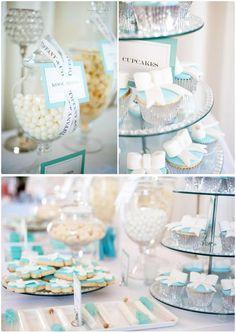 Um tom que sozinho confere personalidade. O azul Tiffany é definitivamente uma cor consagrada!  Basta saber utilizar em sua festa e nos mínimos detalhes! Fica linda e ao mesmo tempo descontraída.