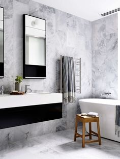 Bathroom | Brookville Apartment by MA Architects | est living