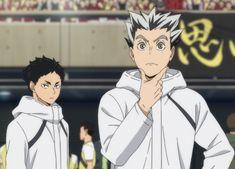 Manga Anime, Anime Art, Bokuto X Akaashi, Volleyball Anime, Haikyuu Wallpaper, My Beautiful Friend, Bokuaka, Handsome Anime Guys, Haikyuu Manga