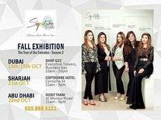 Dubai Calling !..These Talented designers are all set to do The Tour of Emirates Part 2 with Signature Studio.. Dubai 13-15th oct.. Sharjah 21st Oct.. Abudhabi 22nd Oct.. We wish @sofianaveedlari best of luck for her upcoming exhibitions in UAE  #followme #insta #instagram #instapic #instagood #instafollow #instalife #instalike #instalove #instafashion #instafame #instafamous #lifestyle #style #model #samysays #love #peace #glam #glamour #artist #fashion #fashionista #fashionblogger