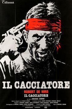 Deer Hunter (1978) Original Pre-Awards Italian 4 Fogli Movie Poster