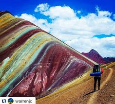 """Rainbow Mountains Peru coordinates: Hi, Here are the coordinates for Rainbow Mountain: How to get there is up to you :) 13°51'31.1""""S 71°16'21.4""""W Enjoy!"""