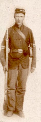 Cpl. Thomas H.B. McCain, Company I, 86th Indiana Infantry. Later promoted to sergeant.