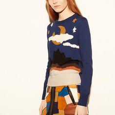 Moonscape Crewneck Sweater, $250 on sale (reg $495)