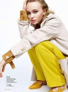 Lily Rose-Depp for Vanity Fair France