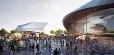 Google's new headquarters design takes transparency to new levels  As an architect, what do you give the company that has everything? More to the point, what do you design for the company that is everywhere, that has become digitally ubiquitous?  http://www.latimes.com/entertainment/arts/la-et-cm-new-google-headquarters-mountain-view-20150303-column.html