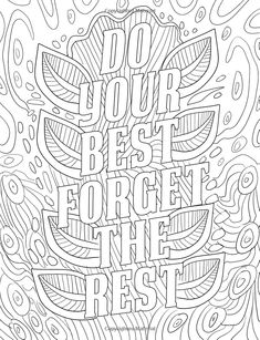 Good Vibes Coloring Book: A Motivational Coloring Book for Adults, Teens and Kids with Inspirational Sayings, Positive Affirmations and Therapeutic Patterns for Relax and Stress Relief Love Coloring Pages, Printable Adult Coloring Pages, Mandala Coloring Pages, Coloring Books, Coloring Sheets, Coloring Pages Inspirational, Color Quotes, Scrapbooking, Positive Affirmations