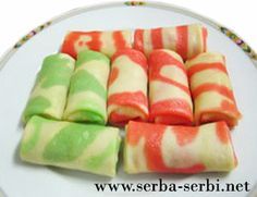 serba-serbi.net: Resep kue dadar gulung warna warni