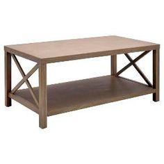 Owings Coffee Table Rustic - Threshold™ : Target