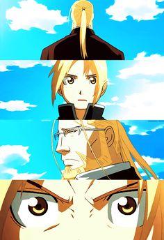 Edward & Van   Father & Son   Fullmetal Alchemist Brotherhood   #FMAB   #anime