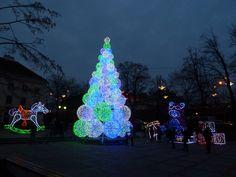 Świąteczna iluminacja Warszawa 2016
