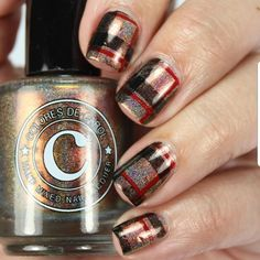Love this gorgeous stamped mani by the amazing using our all new Pretty in Plaid plate! Link in bio to shop! Plaid Nails, Nail Stamping Plates, Autumn Nails, Beauty Nails, Class Ring, Nail Art, Amazing, Pretty, Rocks