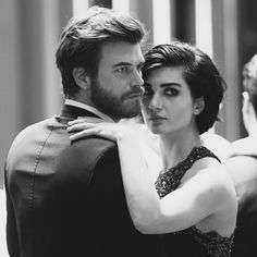 Kivanc Tatlitug as Cesur and Tuba Buyukustun as Guzel in the Turkish TV series Cesur ve Guzel 2016-2017.