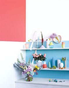 september issue of inside out magazine / sfgirlbybay Color Inspiration, Interior Inspiration, Out Magazine, Tropical Bathroom, Crazy Colour, Color Pop, Kids Decor, Home Decor, Geometric Wall