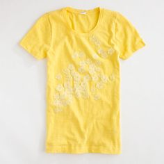Factory crinkle flower tee from JCrew- Love it!