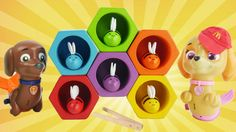 Best Learning Toy Video for Kids to Learn Colors and Sorting with Preschool Toy Bees and Beehive. Paw Patrol Mer Pups join us for an educational toy video for preschoolers. We have fun toy honey bees and a colorful beehive. These cute toy bees have six different colors and each one has its own hexagon shape hive to match with. This preschool toy helps kids learn their colors sorting and matching. Kids can sort beehive toys in all sorts of ways matching and mixing them to make different…