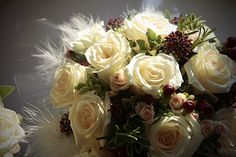 bouquet with berries