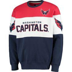 Men s G-III Extreme Navy Washington Capitals Supreme Crewneck Fleece  Sweatshirt 0736b7171