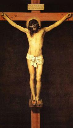Prayer Before a Crucifix Holy Card