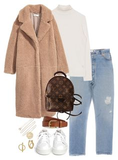 """Untitled #5407"" by theeuropeancloset on Polyvore featuring H&M, Ash, Louis Vuitton, Pascale Monvoisin and Lucky Brand"
