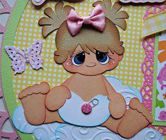 Auctiva Image Hosting Paper Piecing, Baby Room Pictures, Baby Binky, Scrapbook Borders, Paper Dolls Book, Felt Diy, Felt Dolls, Scrapbook Paper Crafts, Valentines Diy
