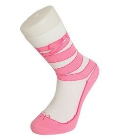 Love this Ballet Shoe Socks - Set of Two by Bluw Gift on #zulily! #zulilyfinds