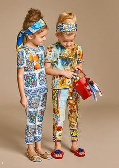 Get Serious! Kid's fashion is A Thing - Dolce Gabbana italian style