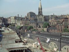 - LaceMarket view from Broadmarsh area Uploaded by Rachel. Nottingham City Centre, Young Lad, History Photos, Model Trains, Paris Skyline, Derby, Abandoned, 1970s, The Past