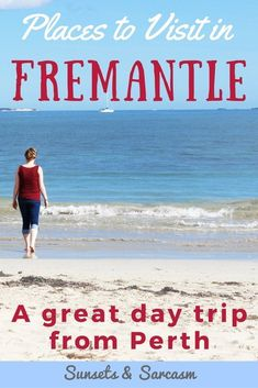 Places to visit in Fremantle Australia - beaches, where to eat and drink in Fremantle, museums and prison, Fremantle markets and more. Make the most of your Fremantle day trip from Perth and discover Western Australia! Moving To Australia, Australia Beach, Perth Western Australia, Visit Australia, Australia Travel, Australia House, Queensland Australia, Brisbane, Melbourne