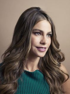 A portrait of Sofia Vergara from today's shoot.