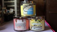 My favorite Spring Bath and Body Works Candles