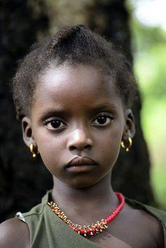 "yesterdayandkarma: ""Portrait by Battlenoob "" Precious Children, Beautiful Children, Beautiful Babies, Beautiful People, Most Beautiful Black Women, Simply Beautiful, African American Artwork, African Culture, Black Kids"