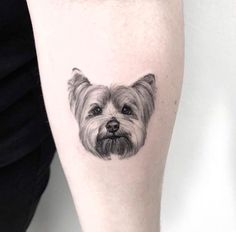 Be sure to meet the artists who specialize in animal tattoos - Be sure to meet the artists who specialize in animal tattoos - Mini Tattoos, Small Dog Tattoos, Cool Tattoos, Tattoos Of Dogs, Tribal Tattoos, Wrist Tattoos, Sleeve Tattoos, Tattos, Tattoo Life