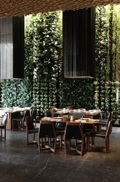 El Japonez Restaurant, Mexico City by Serrano Cherrem Architects. #interior #design #inspiration #retail #horeca