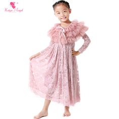 Find More Clothing Sets Information about Retail Girls Lace Dress Shawl Suit Dust Pink Flower Kids Girls Dress Autumn Dress Children Spring Kids Clothes,High Quality kids clothes,China spring kids clothes Suppliers, Cheap kids spring clothes from kaiya angel clothing factory on Aliexpress.com
