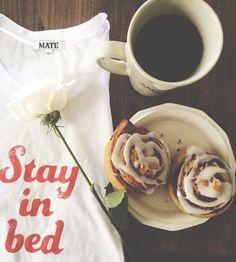 Lazy mornings :: STAY IN BED tank