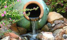 Seznam - najdu tam, co neznám Fountain, Coconut, Ponds, Fruit, Water, Outdoor Decor, Gripe Water, Water Fountains, Water Feature