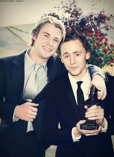 Chris and Tom