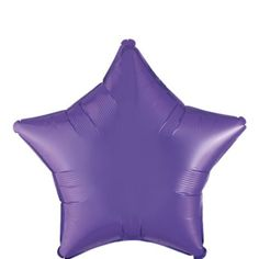Foil Purple Star Balloon 18in - Party City