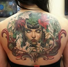 awesome Magic the Gathering cards' art tattoo
