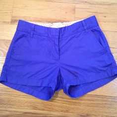• J. Crew • J. Crew Broken-In chino short. 3 inch inseam. Thinner cotton. Excellent condition. J. Crew Shorts