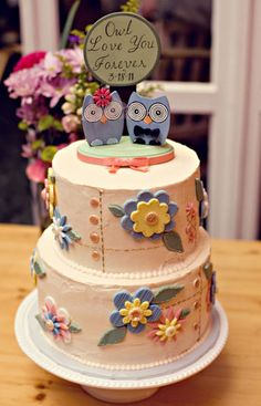 owl cake - the need may become an obsession in this case!