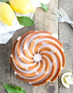 This scrumptious bundt cake is packed with refreshing lemon flavour — perfect to serve at a summertime picnic.