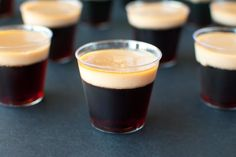 Baby Guinness Jello Shots