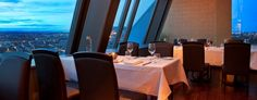 Start a visit with a pre-dinner cocktail in the adjoining 34 Skybar and watch the sunset over #Oslo. http://www.radissonblu.com/plazahotel-oslo/dining