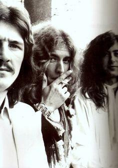 John Bonham - Robert Plant - Jimmy Page