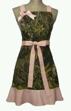 Mossy oak Camo apron! $49.99 or make one
